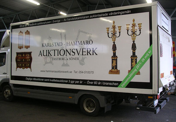 Lastbilsdekor