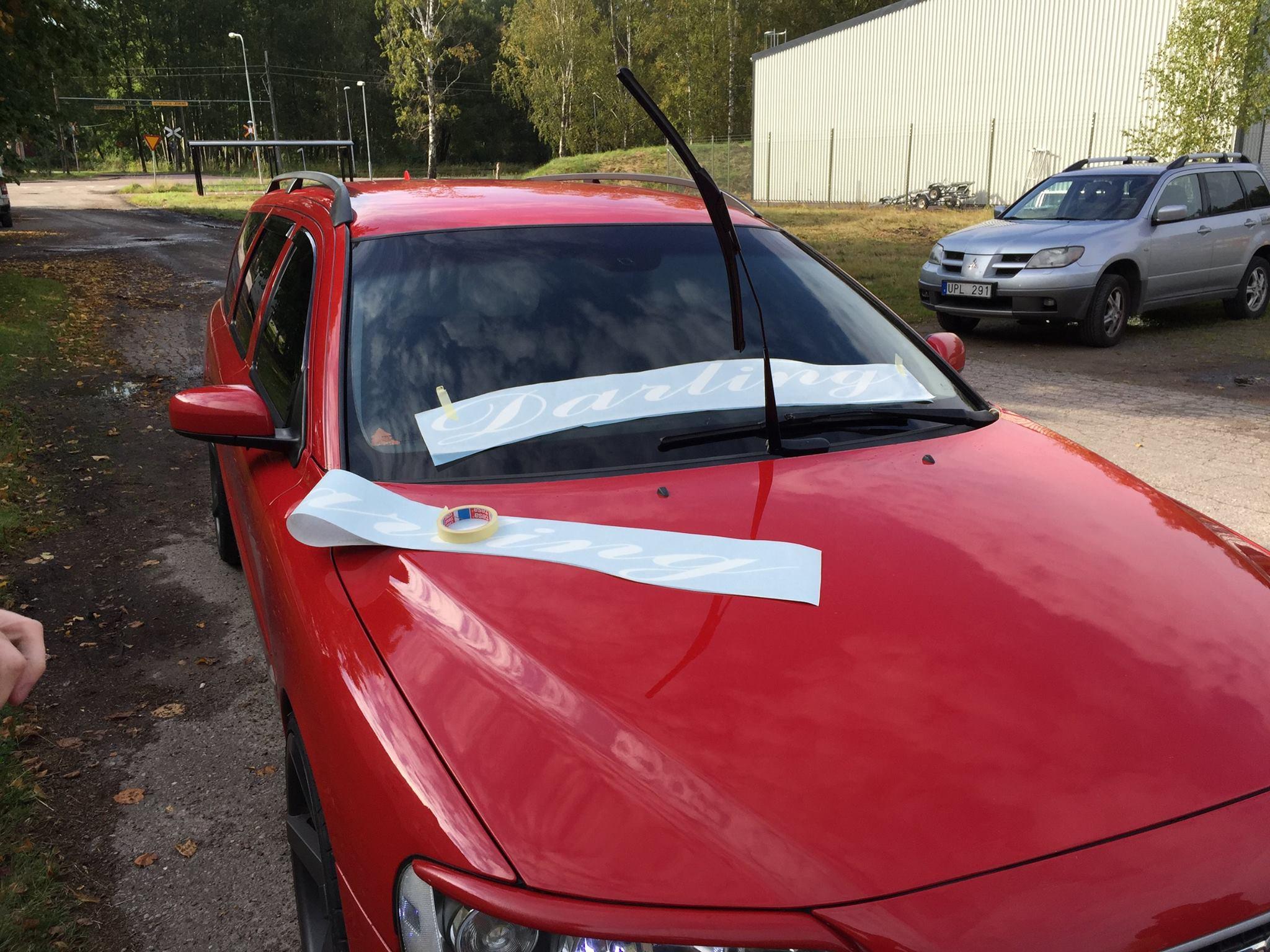 snygga dekaler till bilen